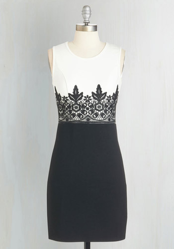 Going Monochrome Dress