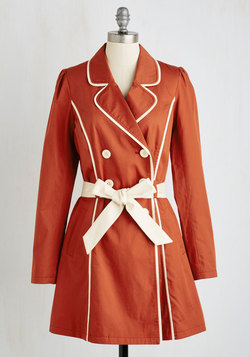 East Coast Tour Coat in Paprika