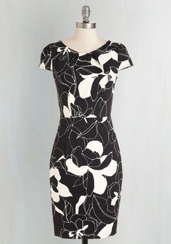 Ins and Outlines Dress