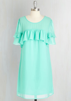Ruffled and Radiant Dress