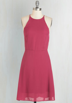 Refreshing Finesse Dress in Sangria