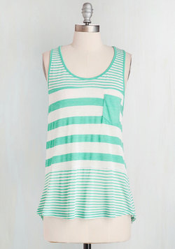 Here to Staycation Top in Mint