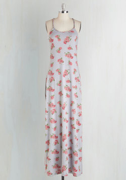 Let's Take a Rose Trip Dress