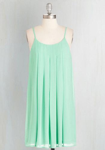 Getaway Goddess Dress in Aqua