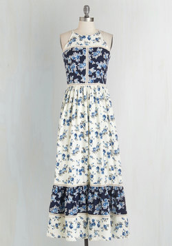 Patchwork of Flowers Dress