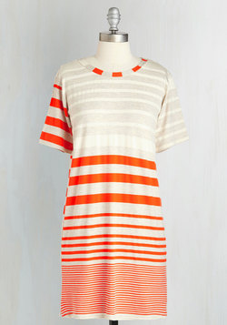 Flows a Little Something Like This Dress in Orange