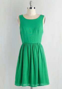 It's Easy Bein' Green Dress