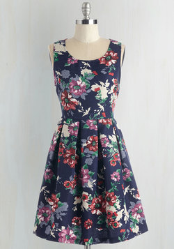 Flower Bed and Breakfast Dress