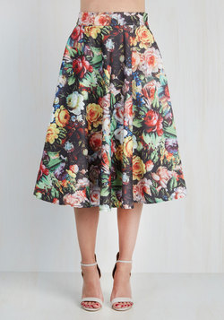 Painted Posies Skirt