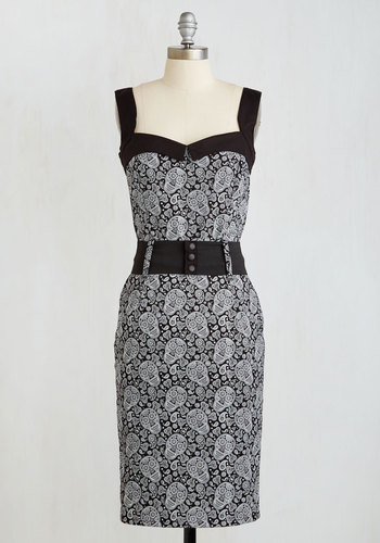 Cool Vibes Dress in Paisley $69.99 AT vintagedancer.com