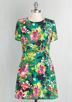 Fete Among the Flowers Dress