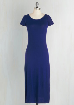 Long-term Love Dress in Blue
