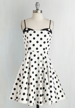 Connecticut the Dots Dress
