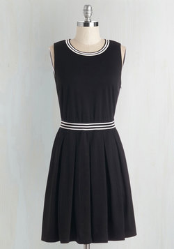 Pros and Contrast Dress