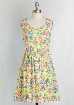 Rock the Botanical Dress