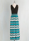 Adore County Dress in Chevron