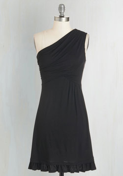 Midnight Sun Dress in Black