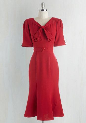 Pursuit of Sassiness Dress $179.99 AT vintagedancer.com
