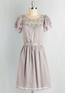 Indie Darling Dress in Taupe