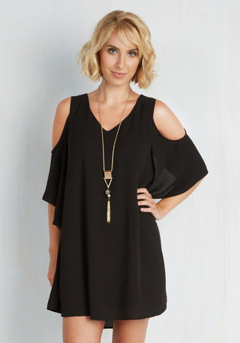 Flutter-ly Fabulous Dress in Black