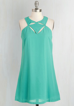 Dynamic Dessert Dress in Jade