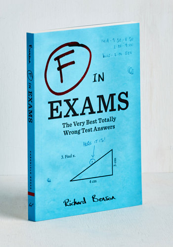 F in Exams by Chronicle Books - Good, Top Rated