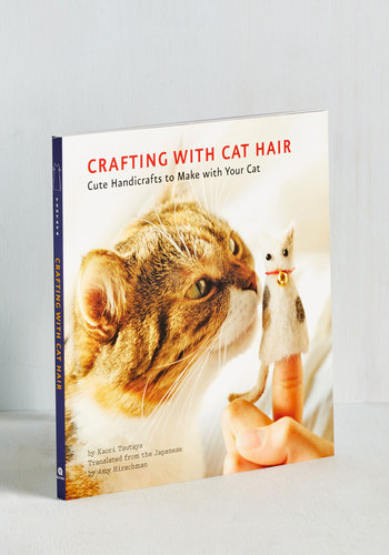 Crafting With Cat Hair - Handmade & DIY, Print with Animals, Cats, Good