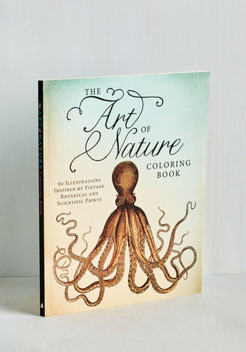 The Art of Nature Coloring Book - Multi, Multi, Good, Print with Animals, Critters, Handmade & DIY