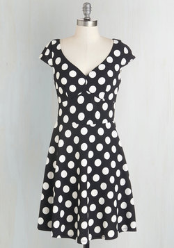 Get It, Dot It, Good! Dress