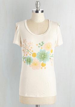 Page-Pressed Flowers Tee