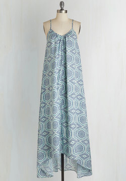 Wish Fulfillment Dress in Tile - Maxi