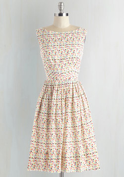 Daytrip Darling Dress in Confetti