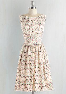 Daytrip Darling Dress in Confetti