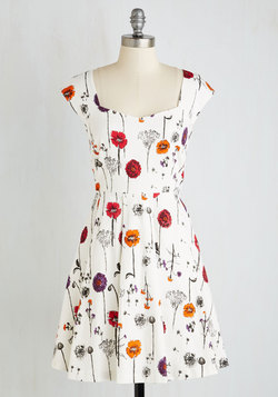 Showered with Flowers Dress
