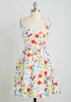 Floral Finesse Dress
