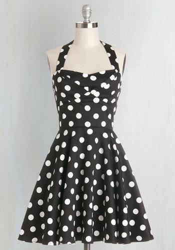 Traveling Cupcake Truck Dress in Black $59.99 AT vintagedancer.com