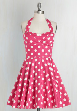 Traveling Cupcake Truck Dress in Pink