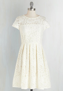 Cream and Sugar Cookie Dress