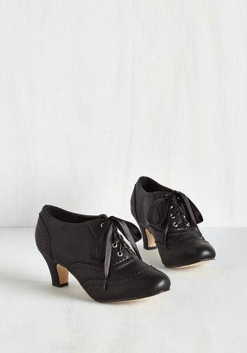 Dance it Up Heel in Black $49.99 AT vintagedancer.com