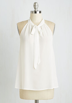 Your Best Effortlessness Top in Ivory