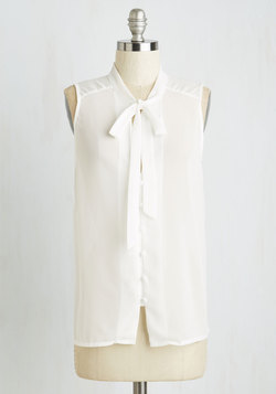 Zephyr than Ever Top in White