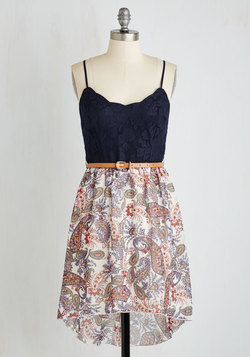 Debut Dance-Off Dress in Paisley