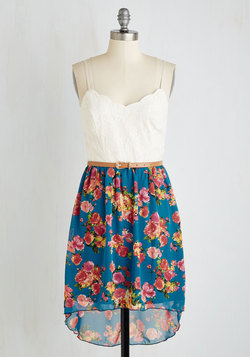 Debut Dance-Off Dress in Floral