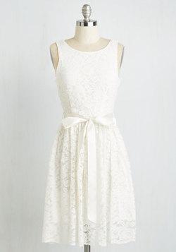 Lovely as Lychee Dress in Cream