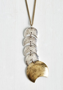 What a Crescent Surprise! Necklace