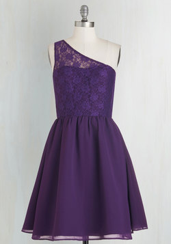 Plum Kind of Wonderful Dress