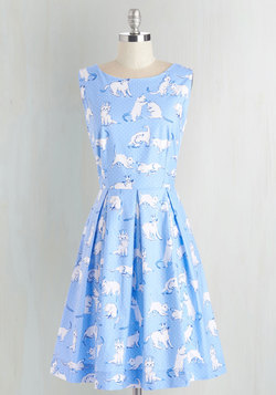 Chalk of the Town Dress in Kittens