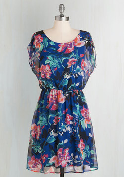 Watercolor your Day Dress