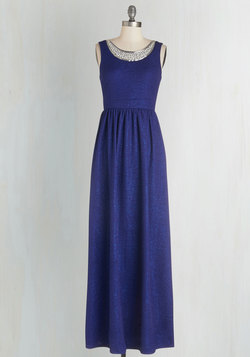 Beyond Compare Dress in Sapphire