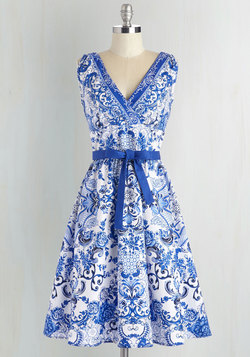 Patio Prints-cess Dress